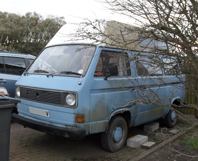 1980 VW T25 Camper Van
